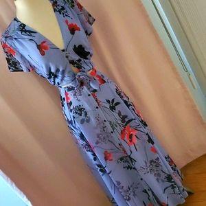 Yumi kim long button down dress sz S NWOT [829]